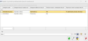 comarch optima rejestr czynnosci przetwarzania danych osobowych
