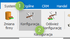 optima system konfiguracja